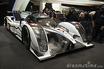 World Premiere of the Peugeot 908 Editorial Stock Image