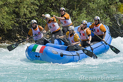 World rafting championship 2009 Editorial Stock Image