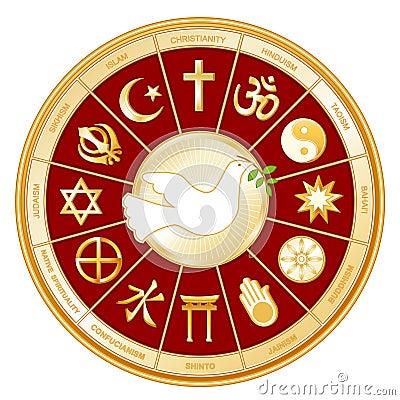 Free World Religions, Dove Of Peace Stock Photo - 4089300