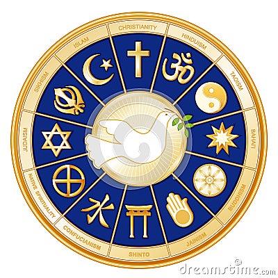 Free World Religions, Dove Of Peace Stock Photo - 5820840