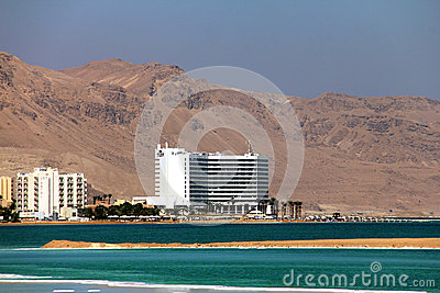 World-renowned health resort complex on the Dead sea Editorial Image