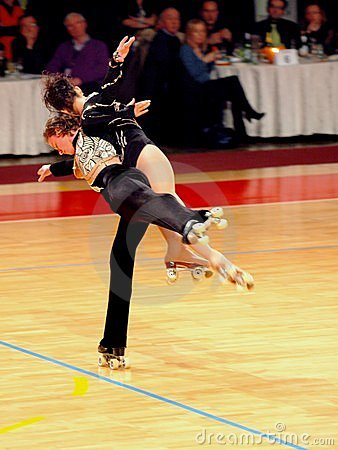 World Roller Skating - Grand Prix Editorial Stock Photo
