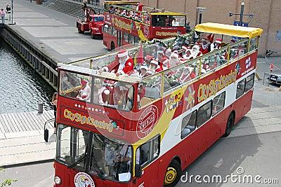 The World Santa Claus Congress in Copenhagen Editorial Stock Photo