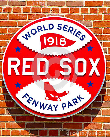 1918 World Series Championship Logo Editorial Stock Photo
