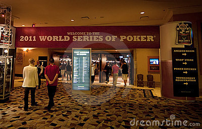 World Series of Poker (WSOP) 2011 at Rio Editorial Stock Image