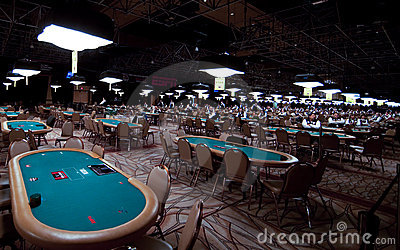 World Series of Poker (WSOP) at Rio Editorial Stock Image