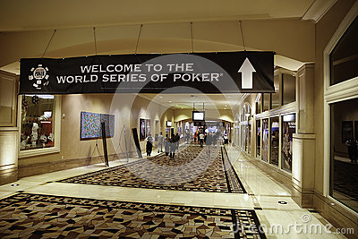 World Series of Poker (WSOP) at Rio Editorial Photography