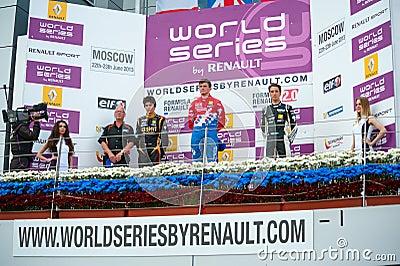 World series por Renault Foto Editorial