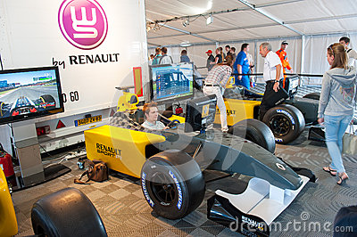 World Series by Renault Editorial Photography