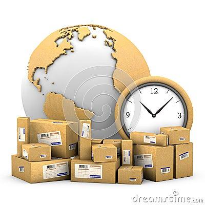 Free World Shipments. Stock Photo - 22586540