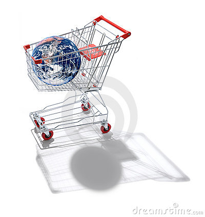 World Shopping Cart Globalisation