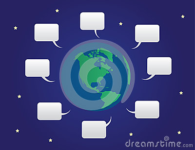 World Speech Bubbles