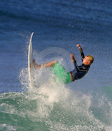 World Surfing Champ Mick Fanning Editorial Stock Image