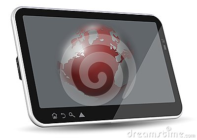 World in tablet