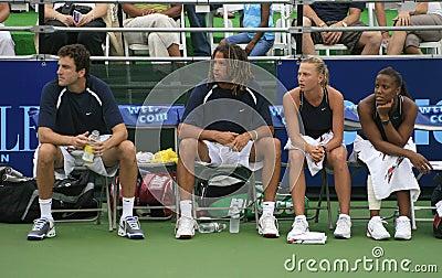 World Team Tennis Editorial Stock Photo