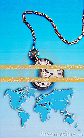World Time, Abstract Business Art