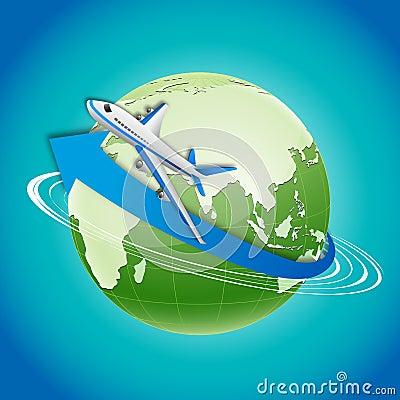 Free World Tour Stock Photo - 17557840