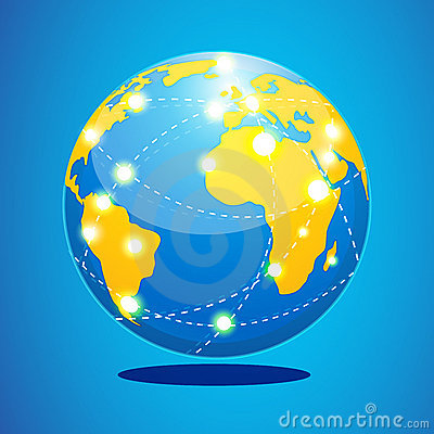 Free World Tour Royalty Free Stock Photo - 17907665