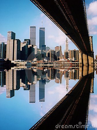 Free World Trade Center And Bridge Royalty Free Stock Images - 6031189