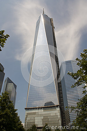 World Trade Center Tower 1 New York City Editorial Stock Photo