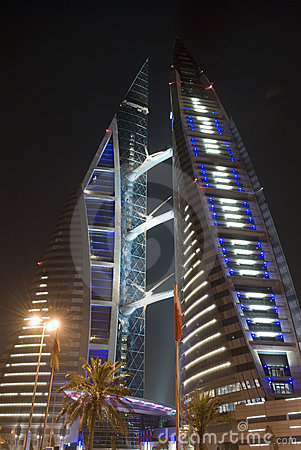 Free World Trade Centre, Bahrain Stock Photography - 4930562