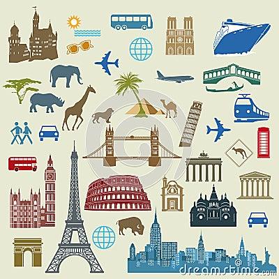 Free World Travel And Landmarks Stock Photos - 33600463