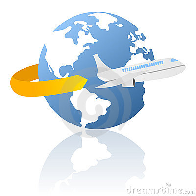 World Travel and Delivery Logo