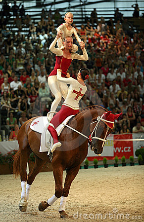 World vaulting championship Editorial Image