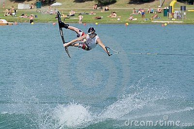 World Wakeboard Championship Editorial Stock Image