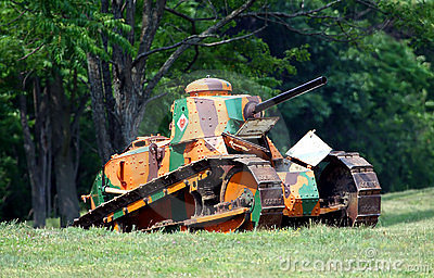 World War 1 Renault Tank