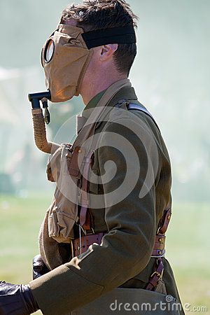 World War 1 soldier Editorial Stock Image