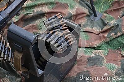 World war 2 machine gun