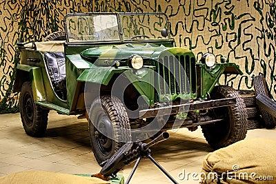World War II Army Truck