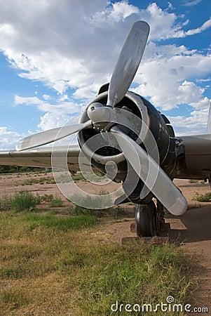 Free World War II Bomber Engine Royalty Free Stock Photos - 15466798