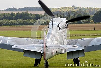 World War II German fighter plane
