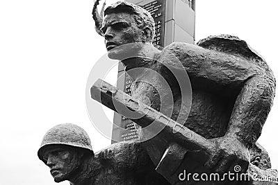World War II Memorial in Polotsk