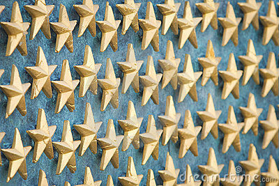 World War II Memorial Stars