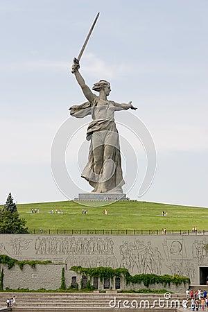 World War II Memorial in Volgograd