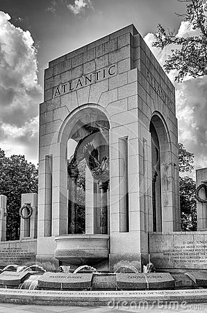 World War II Memorial in Washington Editorial Stock Image