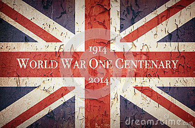 World War One Centenary Union Jack