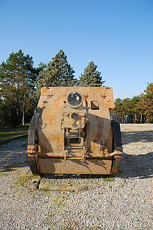 World War One Howitzer Cannon