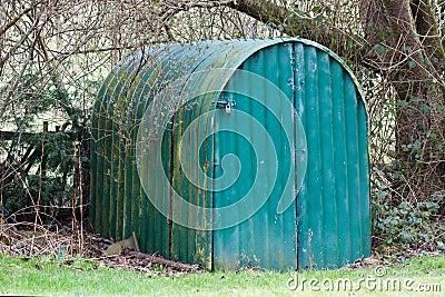 World War Two air raid shelter
