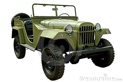 World war two army truck