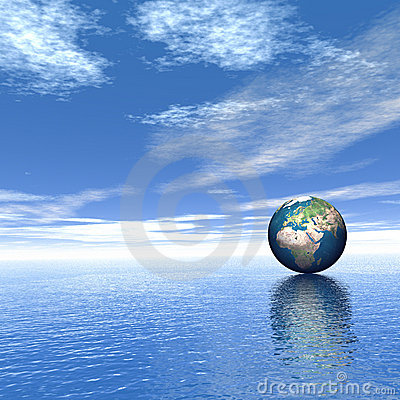 World on the water