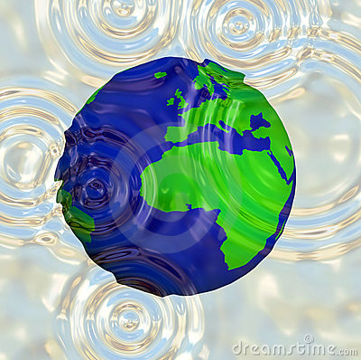 World Water Ripple