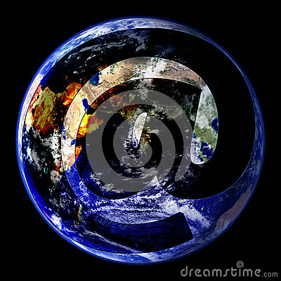 World Wide Email Globe East