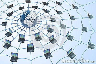 World Wide Web concept.