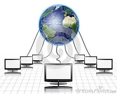 World Wide Web Flat Panel