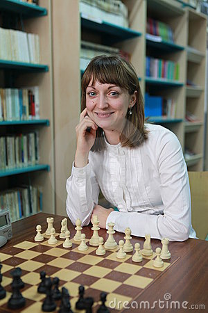 World Women s Chess Champion Elisabeth Paehtz Editorial Photo