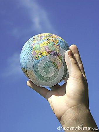 World in yor hand